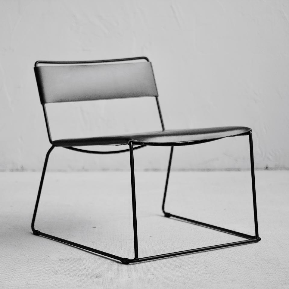 Uccio Indoor Low Chair Barbera Design